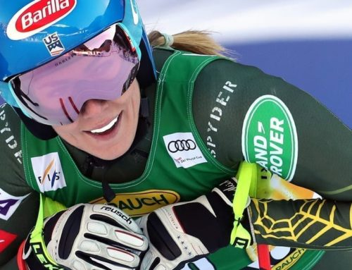 Mikaela Shiffrin and Chris Anthony host a youth art contest